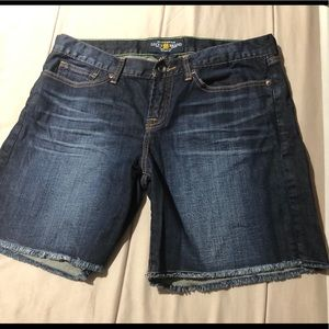 Lucky Brandy Abbey Double Roll Shorts size 12